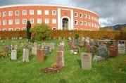 Den siste utvidelsen av Årstad nye kirkegård, opparbeidet i 1907. Fløenbakken 58. Foto: Ingfrid Bækken, Bergen Byarkiv