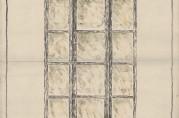 Skisse av korridorlykter. Fra arkivet etter Byggprosjektavdelingen.