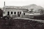 K. Jebsens Baand- og Lidse-Fabrik på Solheim, 1911. BBA-2937. Fotograf ukjent.
