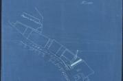 Skisser i forbindelse med kullkompaniet Victor Müllers byggesak fra 1929 som viser at Årstadkaiens kapasitet var sterkt presset. Bygningssjefen i Bergen (A-0430 Ha).