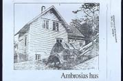 """Ambrosias hus """"Runeplass"""" Fjøsangerveien 119 på Minde. BBA-2969.11. Fotograf ukjent. Uten år."""