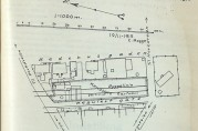 Her ser vi hvor Knudsens gartneri lå. Bergens kommuneforhandlinger 187/1917.