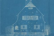 Bergens bliktrykkeri, Tegninger av bolighus til ansatte ved Bergens Bliktrykkeri.