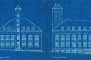 Bygningene i pusset mur med dekor av små og store teglsteinskvadrater er tegnet av arkitekt Ingolf Danielsen (1876-1961). Danielsen tegnet også en del andre industribygg i dette området. Bygningssjefen i Bergen (A-0430 Ha).