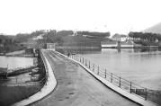 Nygårdsbroen på 1860-tallet. Foto: K.Knudsen, UBB.