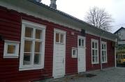 Baksiden av Urdihuset, november 2011. Foto: Åsta Vadset, BBA.