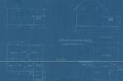 Oppmålingstegning av grunnplan, fasader og situasjonsplan datert 21.03.1921. Arkivet etter Bygningssjefen i Bergen.