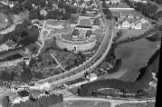 Oversiktsbilde Årstadvollen/Alrekstad. UBB-W-SH-005081. Fotograf: Widerøes Flyveselskap A/S. 01.01.1935-31.12.1938