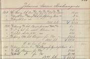 I årene 1889 – 1892 ble det anvist og betalt for flytting (3,00), klær (9,16), støvler (6,80) og i 1892, 5,00 til litt klær for Johannes Larsen Kvalvaagnes. I 1893 ble det betalt 3 i understøttelse til Bergen kommune for samme person for året 1892. Til sammen betalte fattigkassen ut 93,75 for ham i årene 1889 – 1893.  Arkivet etter Årstad kommune, fattigvesenet. Bergen Byarkiv (BBA-0254-R/3).