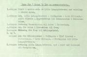 Søknad med beskrivelse av løype i 1946. Fra arkiv etter Havnefogden, Bergen Byarkiv.