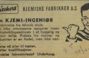 Annonse i Bergens Tidende 1965.