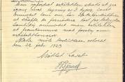 Referat fra møte i Bergen kommunale selvbyggerkomite 19.februar 1923