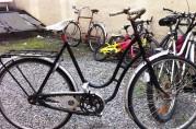 Gamle sykler fra femtitallet.