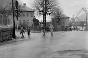 Ny Krohnborg skole. Foto fra Bergensavisen 1973, ukjent fotograf.