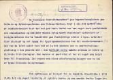 Uttalelse fra stadsfysikus Geirsvold etter oppslaget i avisen Arbeidet, datert 16.februar 1920.