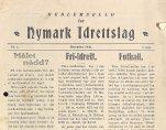 Medlemsblad for Nymark idrettslag 1930.