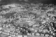 Fridalen 1961. Foto: Widerøes flyveselskap. Billedsamlingen Universitetet i Bergen