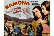 Poster fra filmen Ramona fra 1936.