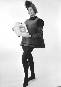 Adwel regnemaskin. Fotograf: Norvin Reklamefoto, 1963.