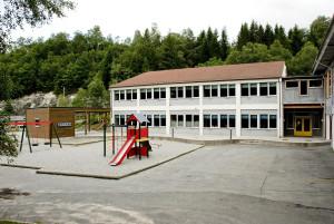 Garnes skule ble oppført i 1960. Arkitekt, Sonja Christie.