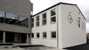 Hellen skole, Helleveien 118. Rehabilitert og utvidet Fotograf: Katarina Lunde. Seksjon informasjon, Bergen kommune.
