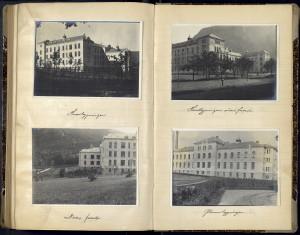 Bygge-journal for Haukeland Sykehus, 1909-1912. Arkivet etter Byggeledelsen for Haukeland Sykehus, Bergen Byarkiv.