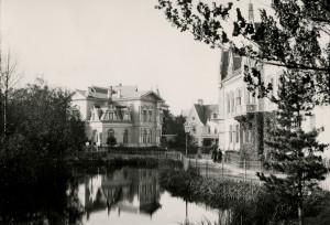 Byutvidelsen i 1877 åpnet opp for bebyggelse på Nygård. Eneboliger for bedrestilte ble reist i gater som Parkveien.