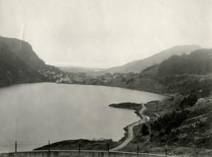 Svartediket. Fotograf: Ukjent. Arkivet etter Reguleringsvesenet, Bergen Byarkiv.