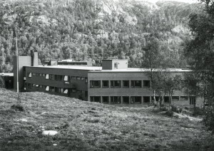 Frieda Fasmers Minne fotografert rundt 1980. Fotograf: ؘyvind H. Berger. Fotoregistrering av Bergen, Bergen Byarkiv.