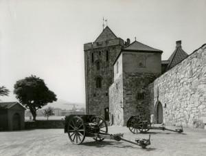 Bergenhus festning med Rosenkrantztårnet..