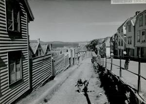 Wesselengen rundt 1970. Fotograf: Ukjent. Arkivet etter Park- og idrettsvesenet, Bergen Byarkiv.