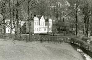 Det tidligere lyststedet Elsesro i Sandviken. Fotograf: Ukjent. Arkivet etter, Kom.avd. fritid, kultur og kirke, Bergen Byarkiv.