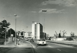 Gyldenpriskrysset på 1970 tallet.<br />Fotograf: Ukjent. Arkivet etter Kom.avd. fritid, kultur og kirke, Bergen Byarkiv.