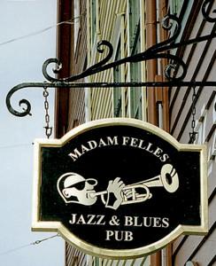 Jazz på Bryggen. Ett av mange jazz-tilbud i Bergen. Fotograf: Norvall Skreien.
