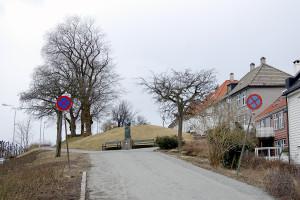 Klosterhaugen. Fotograf: Ingfrid Bækken, Bergen Byarkiv.