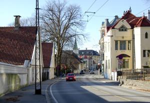 IKong Oscars gate. Fotograf: Ingfrid Bækken, Bergen Byarkiv.