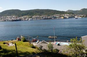 Nordnes Sjøbad åpnet i 1910.