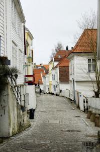 Ytre Markeveien. Fotograf: Ingfrid Bækken, Bergen Byarkiv.
