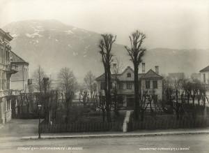 Maartmannshaven i 1890-årene. Fotograf: Knud Knudsen & Co. Arkivet etter Formannskapet, Bergen Byarkiv.