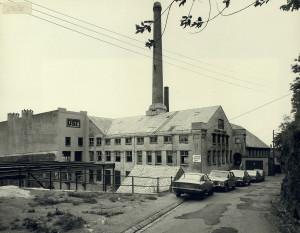 United Sardine Factories A/S, U.S.F, fotografert på slutten av 1970-tallet. Fotograf: Øyvind H. Berger. Fotoregistrering av Bergen, Bergen Byarkiv.