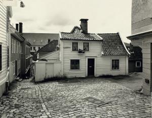 Strangeplassen i 1978. Fotograf: Øyvind H. Berger.<br />Fotoregistrering av Bergen, Bergen Byarkiv.