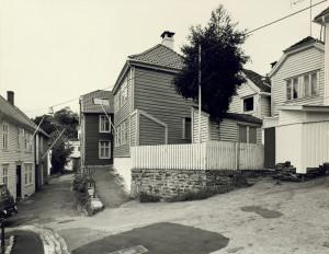 Strangehagen mot slutten av 1970-tallet. Fotograf: Øyvind H. Berger. Fotoregistrering av Bergen, Bergen Byarkiv.