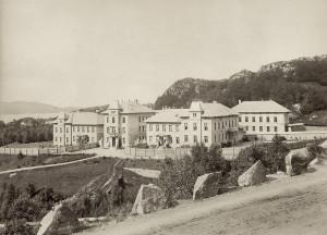 Neevengården. Fotograf: Ukjent. Arkivet etter Luster sanatorium, Bergen Byarkiv.