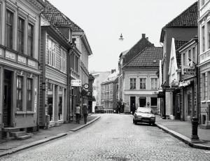 Marken på 1980-tallet. Fotograf: Ukjent. Arkivet etter Morgenavisen A/S, Bergen Byarkiv.