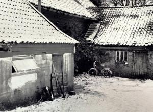 Fana prestegård på 1970-tallet.<br />Fotograf: Kristian Dahl.<br />Arkivet etter Morgenavisen AS, Bergen Byarkiv.