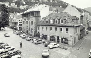 Nedre Korskirkeallmenningen i oktober 1975.