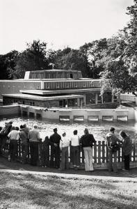 Akvariet på midten av 1970-tallet. Fotograf: Ukjent.<br />Arkivet etter Morgenavisen A/S, Bergen Byarkiv.