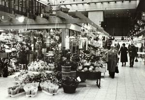 Oasen, med Berle Blomster, i desember 1981.