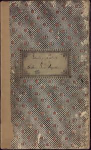 Forhandlingsprotokoll for Mariakirkens Inspeksjon 1851-1904. Arkivet etter Mariakirken, Bergen Byarkiv.