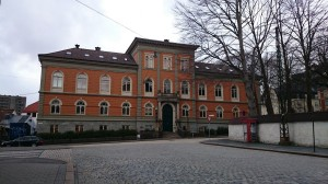 Kunsthøgskolen i Bergen. Fotograf: Olav Alexander Mjelde. Bergen Byarkiv.